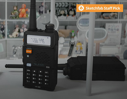 Handheld Portable Radio – Walkie Talkie