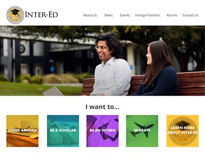 Inter-ED 2018 website
