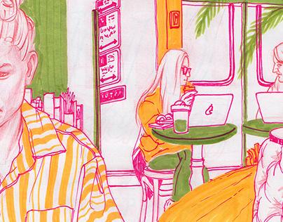 New Sketchbook Drawings