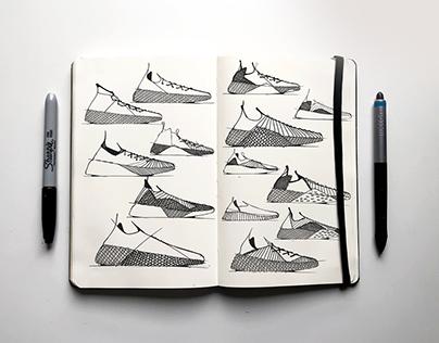 Footwear Sketchbook //