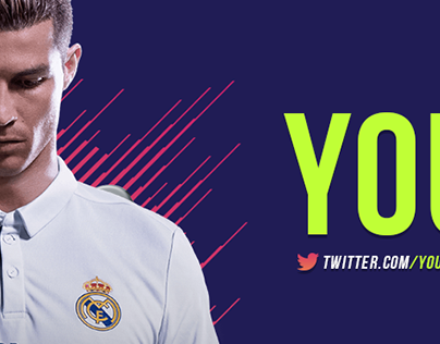 FIFA 18 YouTube Channel Art Template