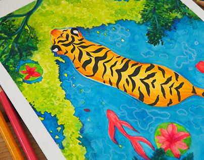 La Nage du Tigre