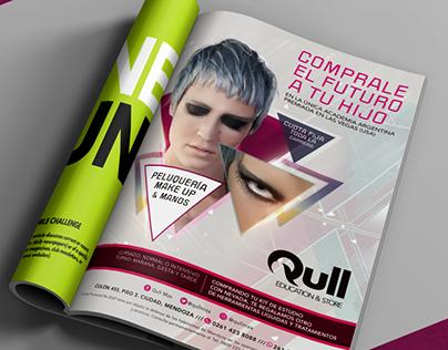 Qull · Magazine Ads