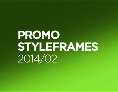 Promo styleframes 2014. Part 2