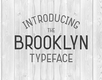 The Brooklyn Typeface