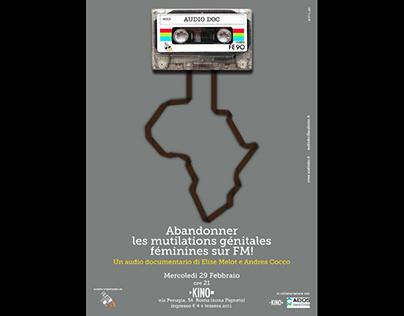 Artwork for audio documentary event