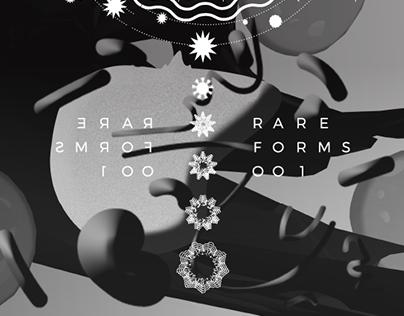 Rare Forms 001 Event Poster