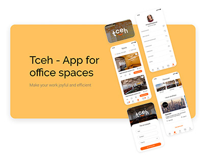 Tceh - app for office spaces