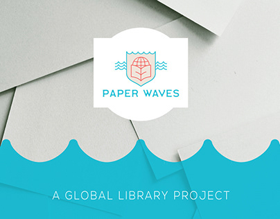 Paper Waves / Logo Design & Branding