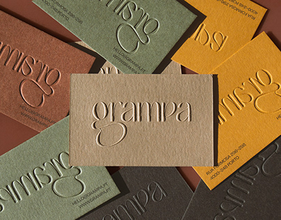 Grampa — Visual Identity / Type Design