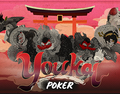 Youkai Playing card - Poker yêu quái