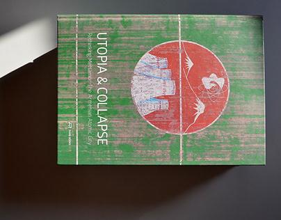 Utopia & Collapse – book design