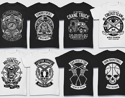 6000 Editable High Quality Tshirt Designs