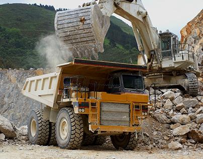 Mining machines / Website