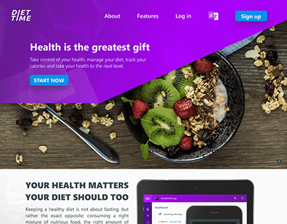Diet Time Home Page