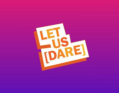 Let Us [DARE]: Virtual Event Branding