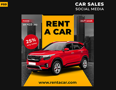 Car Selling Flyer