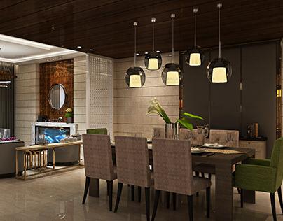 Luxury Interior Design Project in Delhi, GK area.