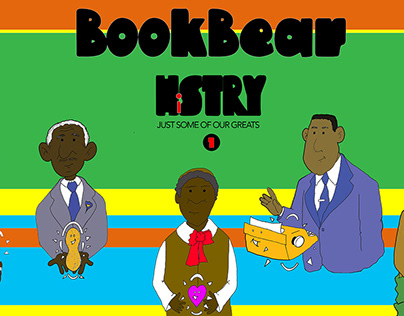 My First Children's Book! Book Bear History Vol. 1