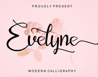 EVELYNE - FREE CALLIGRAPHY FONT