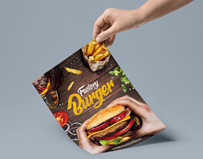 Factory Burger Menu