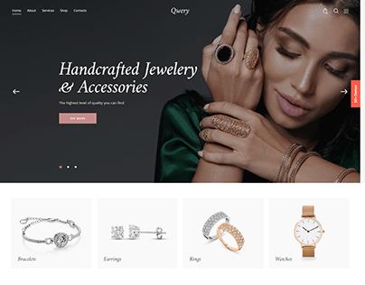 Qwery - Multi-Purpose Business WP Theme: Luxury