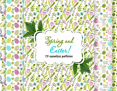 Spring and Easter pattern collection!