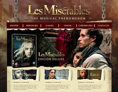 Diseño web/html: Les Miserables