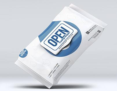 TushyWipes - Branding & Packaging Design
