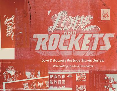 series design: USPS postage stamps