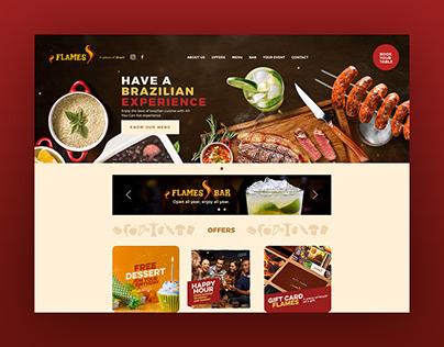 Website | Flames Brazilian Steakhouse