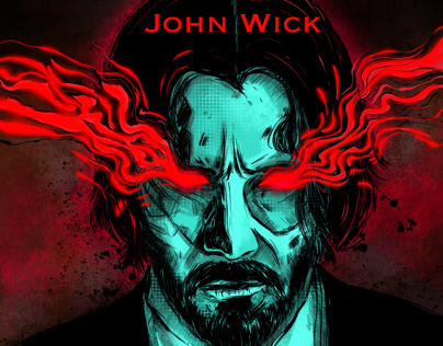 John Wick illustration