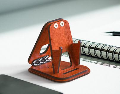 Adjustable & Foldable Phone Stand for Desk