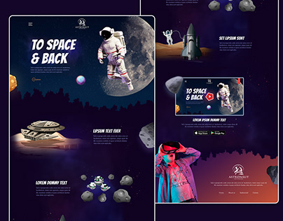 Best Outer Space Web Design