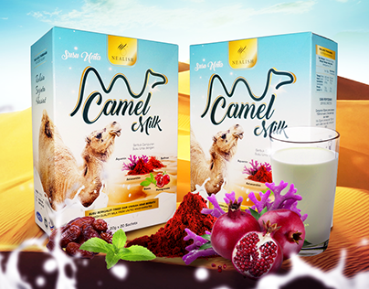 Camel Milk Banner Design
