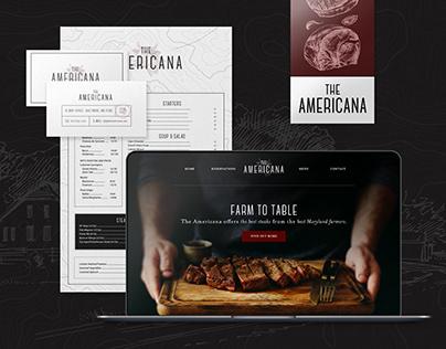 The Americana | Restaurant Branding