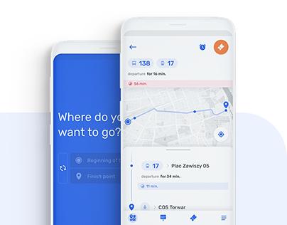 JAKDOJADE mobile app (redesign concept)