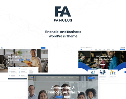Famulus - Finance WordPress