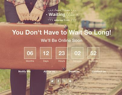 Waiting Wiz - WordPress Theme