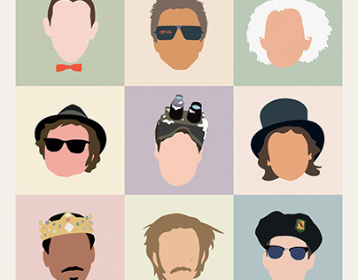 80s movie icons...the guys