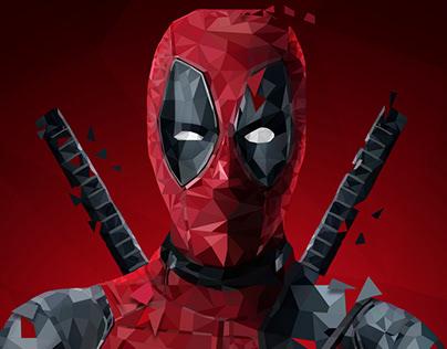 Deadpool Vector | student work, vector, illustration