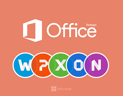 Microsoft Office Icons Redesign