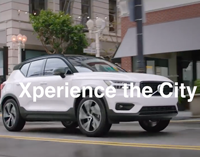 Xperience the City - Volvo XC40