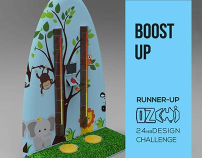 Interactive Installation Design: Boost Up