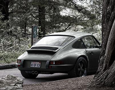 Personal Project - CGI Singer 911 Porsche