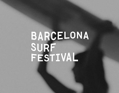 Barcelona Surf Festival Identity
