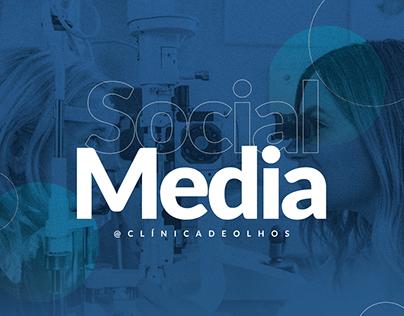Social Media - Clínica de Olhos