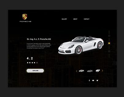 porshe website
