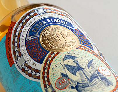 Luxoro – Extra Strong Rum (Concept Label)