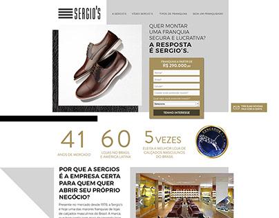 Site Franquia Sergio's